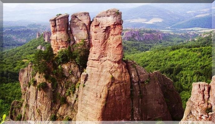 Достопримечательности Болгарии - Белоградчикские Скалы