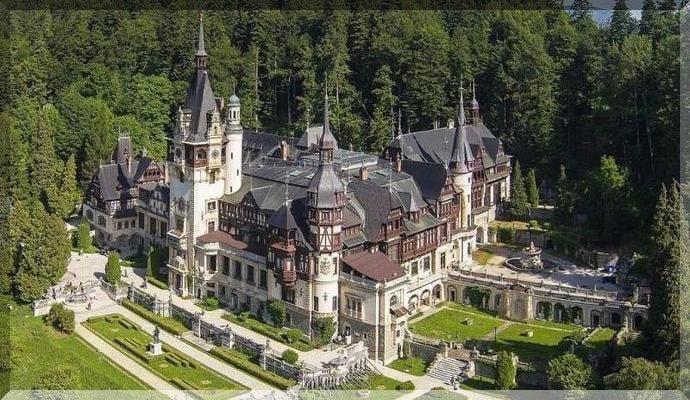 Достопримечательности Румынии - Замок Пелеш