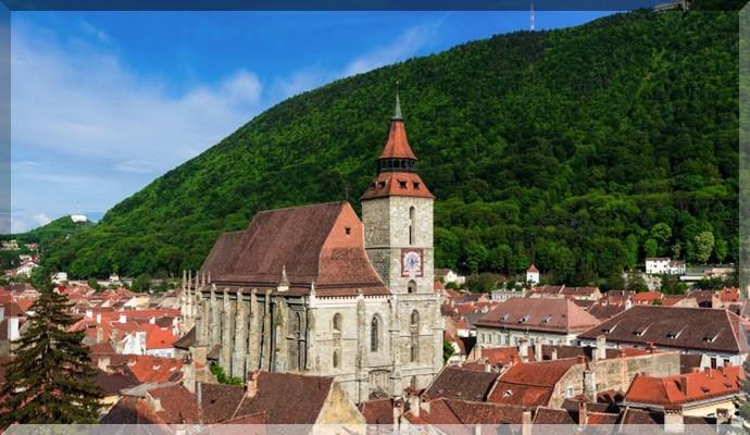 Достопримечательности Румынии - Чёрная Церковь