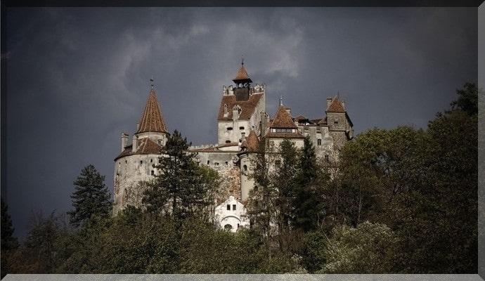 Достопримечательности Румынии - Замок Дракулы