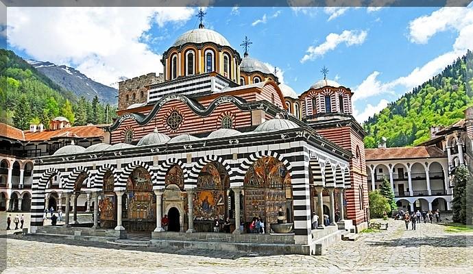 Достопримечательности Болгарии - Рильский Монастырь