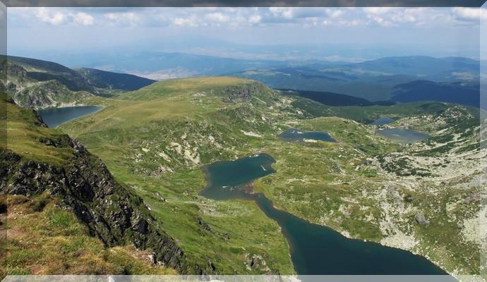 Достопримечательности Болгарии - Семь Рильских озёр