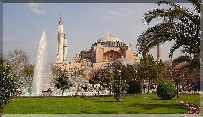 Достопримечательности Стамбула - Собор Святой Софии
